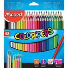 Maped color'peps Цветни моливи 48 цвята
