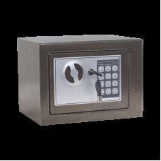 Метален сейф CR-1550 кафяв