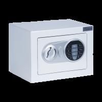 Метален сейф CR-1554, бял