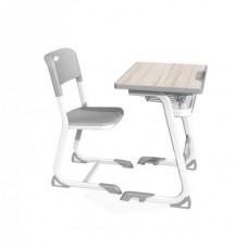 RFG Ергономичен Чин и стол Istudy White, от I до VIII клас