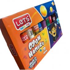 LET'S Комплект пластилин 10 цвята L-8110