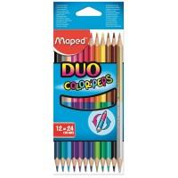 Цветни моливи Maped color'peps 24 цвята