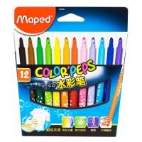 Флумастери Maped color'peps 12 цвята