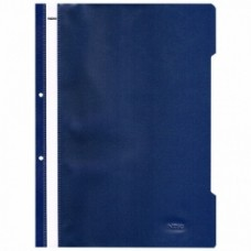 NOKI ПАПКА PVC С ПЕРФОРАЦИЯ LUX тъкмо синя ОП.50 4823
