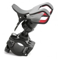 OMEGA  Универсална поставка за телефон за колело, черна 42023