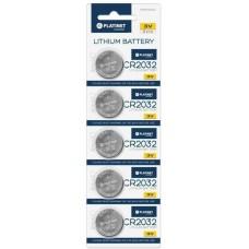 PLATINET Плоски батерии CR2032 - 3V 43911