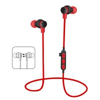 Bluetooth слушалки Platinet PM1061 червени