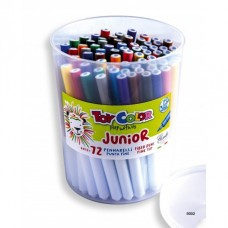 TOY COLOR Флумастери JUNIOR 72 бр.