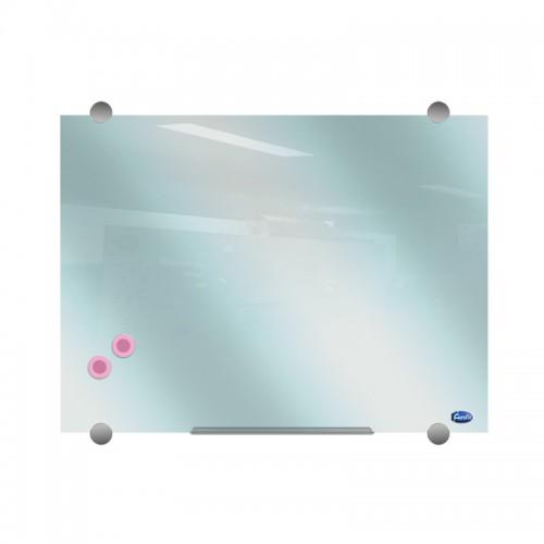 Стъклена магнитна дъска /90x120 см/