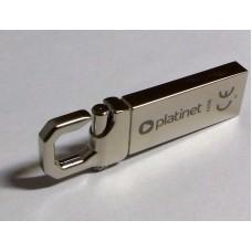 PLATINET USB FLASH памет 64GB, 2.0 МЕТАЛ