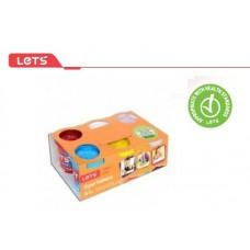 LET'S Пластилин 6 цвята L-8350