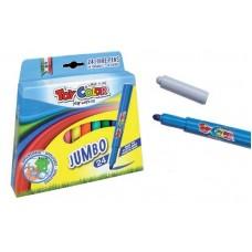 Toy Color Флумастери JUMBO 24 цв.