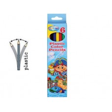 CENTRUM Моливи 6 цвята дълги PIRATE 84267