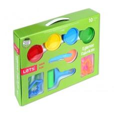LET'S Пластилин 4 цвята L-8480