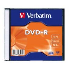 DVD-R VERBATIM 4.7GB 16x ОП.1
