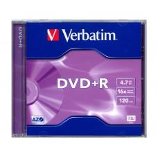 DVD+R VERBATIM 4.7GB 16x ОП.1