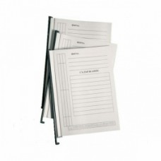 Папка за картотека, L-образна, 10 броя