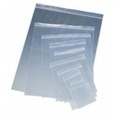 Плик с цип, 6 x 7 cm, прозрачен, 100 броя