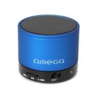 OMEGA Bluetooth колонка OG47, V 3.0, синя