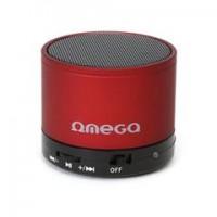 OMEGA Bluetooth колонка OG47, V 3.0, червена
