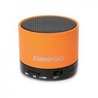 OMEGA Bluetooth колонка OG47, V 3.0, оранжева