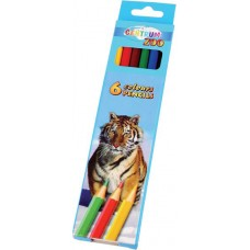 Centrum Zoo 80167 Цветни моливи 6 цвята