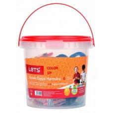 LET'S Кофичка пластилин 4 цвята + 2 формички L8700